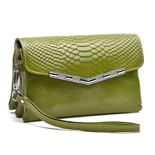 GSPStyle003762-P - Borsa a tracolla Donna Verde (verde)