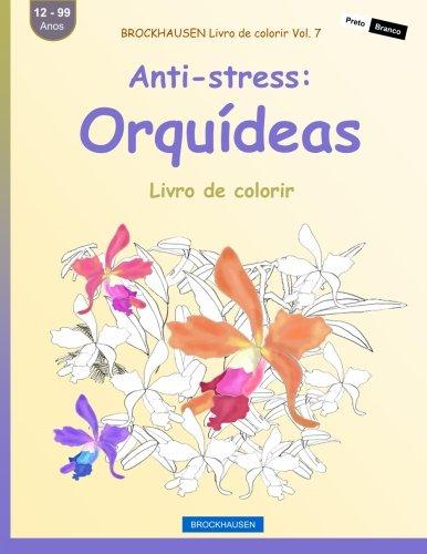 brockhausen-livro-de-colorir-vol-7-anti-stress-orqudeas-livro-de-colorir-volume-7