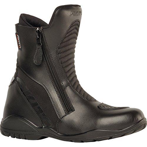 Akito scout short impermeabile da moto sport stivali da equitazione, uomo donna, 1840573600, black