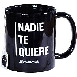Miss Miserable - Taza mug existencialista: ''nadie te quiere''