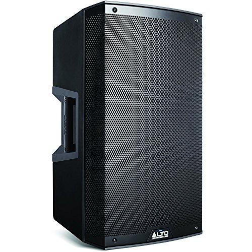Alto TS315 (Aktiver 2-Wege 15 Zoll Fullragen-Lautsprecher mit 2000 Watt & integriertem 2-Kanal Mixer) Schwarz