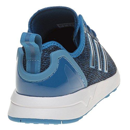 adidas ZX Flux ADV, Chaussures de Running Compétition Homme Bleu