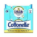 Cottonelle Feuchte Toilettentücher Natürlich Pflegend Nachfüllpack, 12er Pack (12 x 42 Tücher)