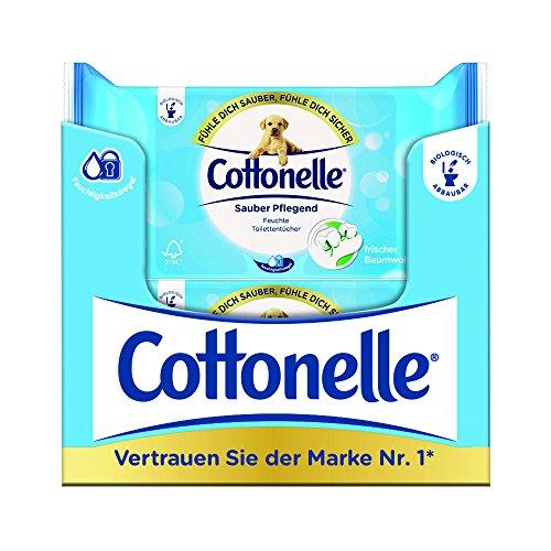 Cottonelle Feuchtes Toilettenpapier Clean Comfort Nachfüllpack (12 x 42 Tücher)