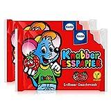 Küchle Knabber Esspapier rot Erdbeer Geschmack 25g Essoblaten (2er Pack)