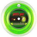 Spro Pro's PRO Eruption Corda per Racchetta da Tennis - 200m Bobina - 1.24mm - Verde