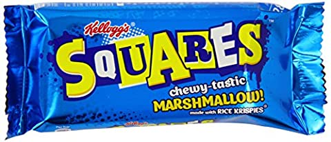 Kellog's Rice Krispies Squares Chewy Marshmallow Biscuits 28 g (Pack