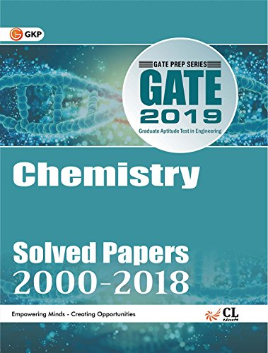 Gate Paper Chemistry 2019 (Previous Papers 2000-2018)