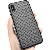 [Sponsored]Ultra Slim Designed For Apple IPhone Xs Case (2018) Super Thin Heavy Duty Protective Armor Anti Scratch Tough Fit Design Cover (Black)