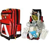 Notfallrucksack Beatmung mit Sauerstoff für Erwachsene Planenmaterial mit Waterstop System preisvergleich bei billige-tabletten.eu