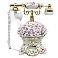 Retro-Telefon Retro- Telefon-europäisches Mode-antikes Telefon-kreatives Festnetz-weißes Innenministerium