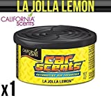 California Auto Düfte La Jolla Zitrone-Lufterfrischer Startseite Van Büro Taxi X 1