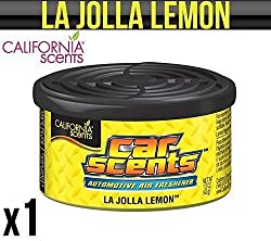 California Scents La Jolla Lemon Carhome Air Freshener