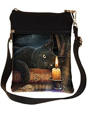 Die Hexenstunde - Katze mit Kerz