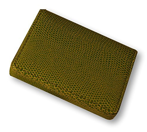 budd-leather-company-lizard-printed-leather-business-card-case-lime-green-552282l-39-by-budd-leather