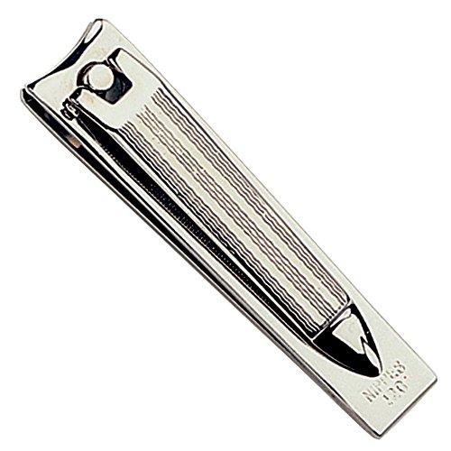 NIPPES Nagelknipser 126, Hohe Qualität gehärtetem Stahl, Multi: Clip, Datei, Reinigen