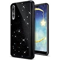 Huawei P20 Pro Hülle,Huawei P20 Pro Schutzhülle,Huawei P20 Pro Silikon Handyhülle TPU Case,KunyFond Schwarz Sterne... preisvergleich bei billige-tabletten.eu