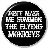 (D Pin) 25mm Lapel Pin Button Badge: FLYING MONKEYS