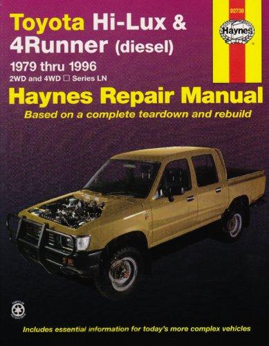 Toyota Hi-Lux and 4 Runner (diesel) Australian Automotive Repair Manual: 1979 to 1996 (Haynes Automotive Repair Manuals)