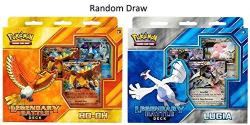 K81301 Legendary Battle Deck (Ho-Oh und Lugia): Pokemon TCG, Mehrfarbig ()