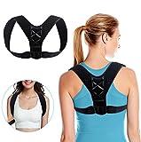YoungRich Geradehalter zur Haltungskorrektur für Schultergurt und Schulter Obere Rückenorthese Schulterstützband für Haltung Verbessern Sie die Körperhaltung Posture Corrector für Damen und Herren