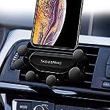 2019 Nuovo Auto-Grip Car Phone Mount, Universal Auto Air Vent Grip Gravity Car Phone Holder, Supporto Automatico Telescopico gravità Staffa Air Vent Mount (CD-018
