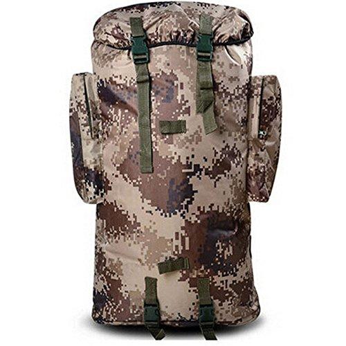 GOUQIN Outdoor Rucksack Klassische Mode Klettern Taschen Rucksäcke Blaugrün