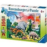 Ravensburger 10957 - Unser Dinosaurier - 100 Teile XXL Puzzle