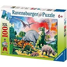 """Ravensburger - Puzzle con diseño de """"dinosaurios"""", 100 piezas (10957 9)"""