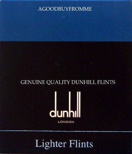 Dunhill-modell (Dunhill Feuersteine, Gemline, Blau,1Päckchen mit 9Stück)