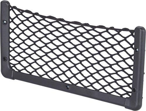 Rete elastica portaoggetti e porta riviste, 410 x 200 mm, colore nero