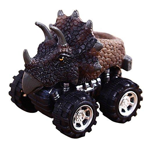 Fossrn Mini Dinosaurio Tire hacia Atrás el Coche de Juguetes para Niños Niñas Bebe (B)