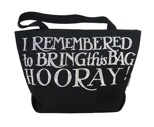 Emma Bridgewater Grand sac de shopping Noir