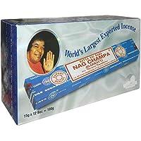 Preisvergleich für 180g Räucherstäbchen Satya Nag Champa Vorratspackung 12 Schachteln Wohnaccessoire Raumduft Deko