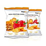 Protein Chips – Eiweiß Fitness Snack Mix Box 6x50g Von Supplify – Whey Proteinpulver und Protein Riegel Ersatz in 3 Geschmäckern – ideal zum Abnehmen oder als Muskelaufbau Booster
