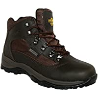 Northwest Territory Mens Terrain Lace UP Premium Leather Upper Waterproof Walking/Hiking Trekking Boot