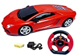 #3: Flipzon Remote Control Jackman Full Function 1:18 Racing Rechargeable Toy Car With Steering Remote, Rechargeable battery & Charger (Color And Design May Vary)