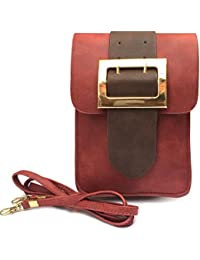 American Micro Leather Latest Fashionable Tie Sling Bag | Hand Bag | Cross Body Bag For Ladies, Girls And Women