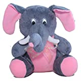 Amardeep and Co Fun Pillow - Elephant (G...