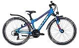 Kinderfahrrad 24 Zoll blau - Bulls Sharptail Street Mountainbike - Shimano Schaltung 21 Gänge