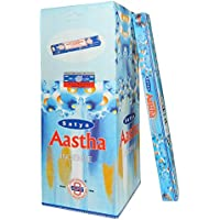 Räucherstäbchen Satya Aastha The Trust 250g Nag Champa Duftsorte 25 Schachteln zu je 10g preisvergleich bei billige-tabletten.eu