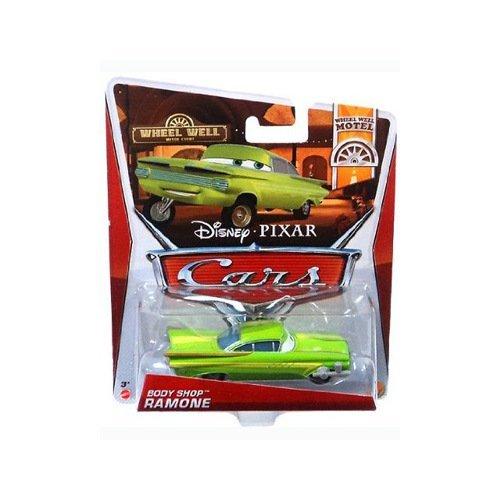 Disney Pixar Cars 2 Body Shop RAMONE - Voiture Miniature Echelle 1:55, Figurines