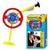 URBN-TOYS Elektronisch Rücksitz Fahrer Kinder Spiel Lenkrad Real Geräuschen Kreativspielzeug