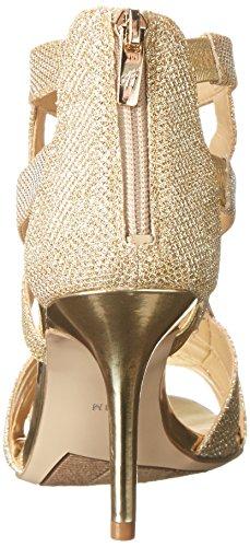 Marc Fisher Nala3 Textile Sandale Gold Multi