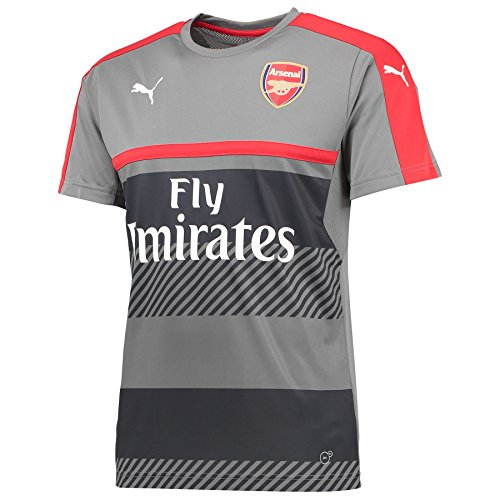 2016-2017 Arsenal Puma Training Jersey (Grey) (Training Arsenal Shirt)