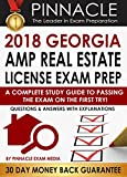 2018 GEORGIA AMP Real Estate License Exam Prep: A Complete Study Guide to Passing the Exam on the First Try, Questions & Answers with Explanations
