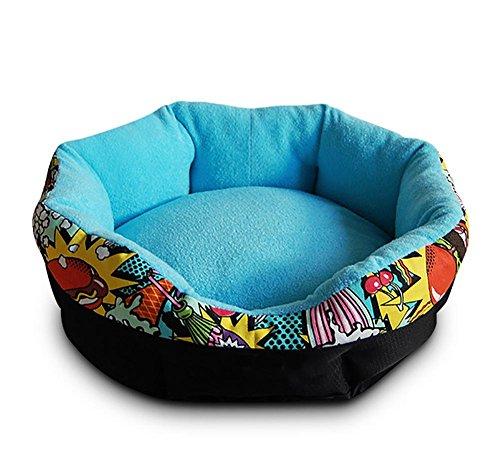 DAN Qualität Luxus Haustier Betten, Hund und Katze Betten, Wasserdicht Boden , blue , s (Blue-luxus-hund-bett)