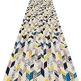 ZENGAI Tappeto Corridoio Passatoia Domestico 3D Cucina Tampone Corridore Tappeti I Corridoi Antivegetativa, 2 Colori, Fatto su Misura (Colore : B, Dimensioni : 0.6x6m)