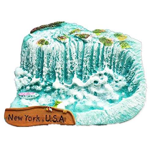 Niagara Falls New York Amerika Kunstharz 3D starker Kühlschrank Magnet Souvenir Tourist Geschenk Chinesische Magnet Hand Made Craft Creative Home und Küche Dekoration Magnet Sticker