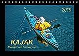 Kajak - Abenteuer und Entspannung (Tischkalender 2019 DIN A5 quer): Kajak, wilde Flüsse bezwingen oder ruhig über das Wasser gleiten - Abenteuer und ... (Monatskalender, 14 Seiten ) (CALVENDO Sport)